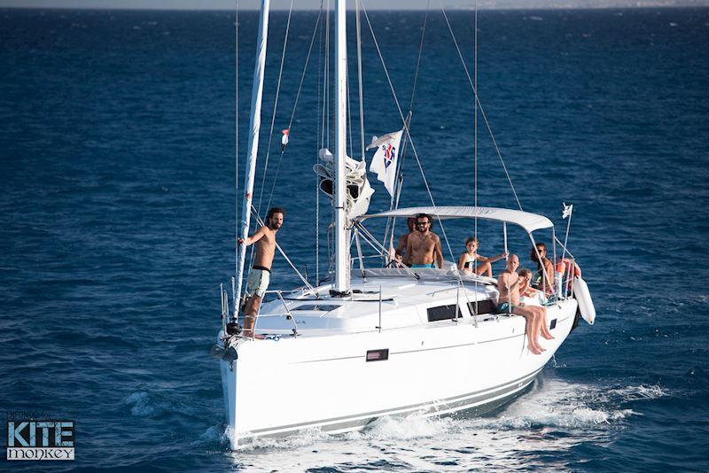 Private Sailing Boat Kite Cruise