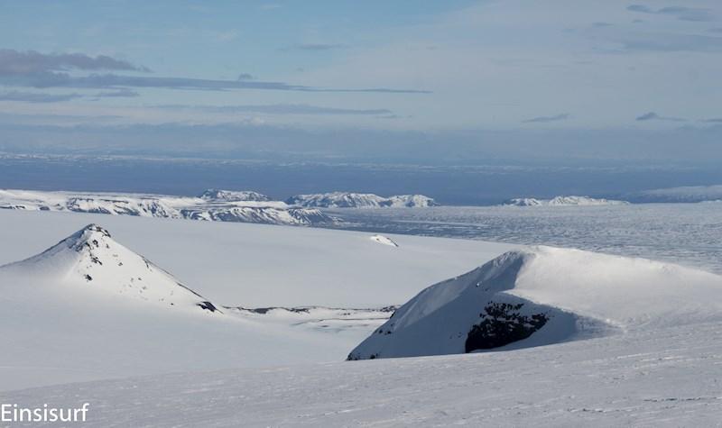 Snowkiting a Remote Glacier