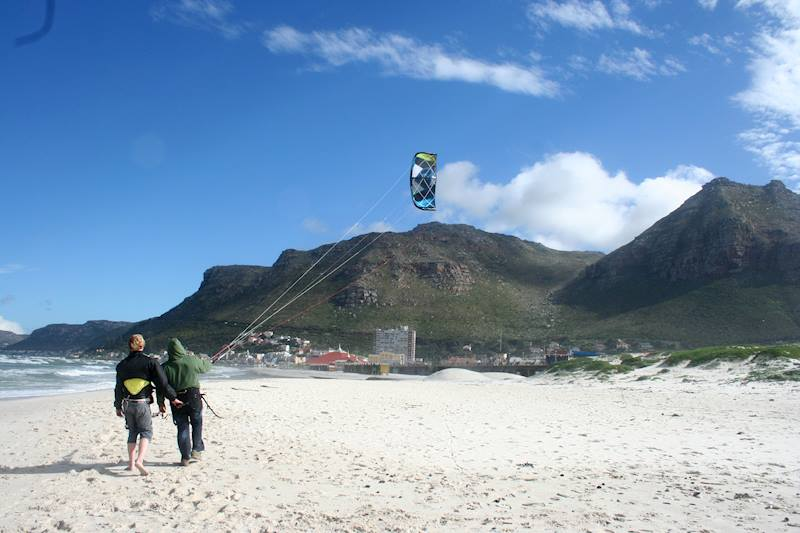 Kitesurf courses in Muizenberg