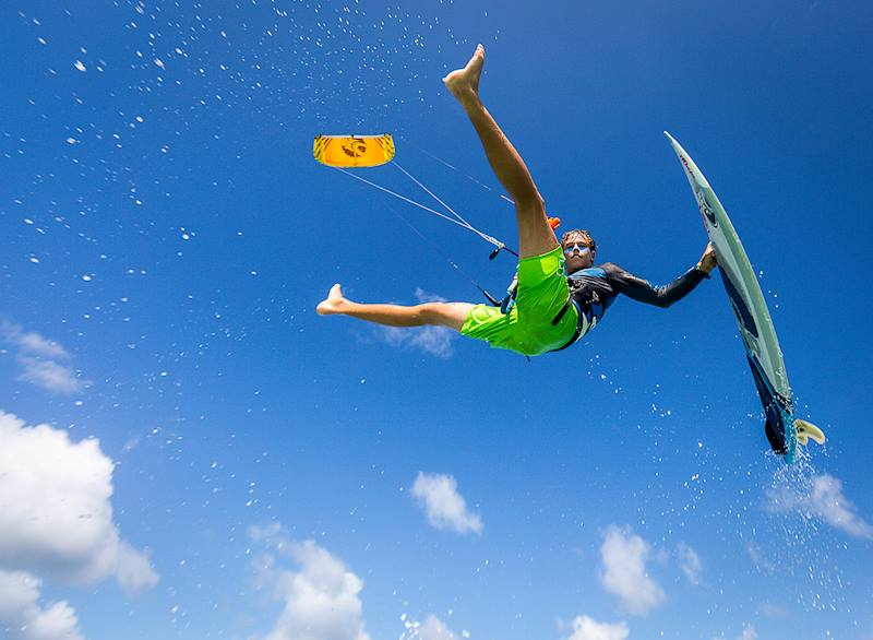 Beginner-Advanced Kiteboarding Lessons