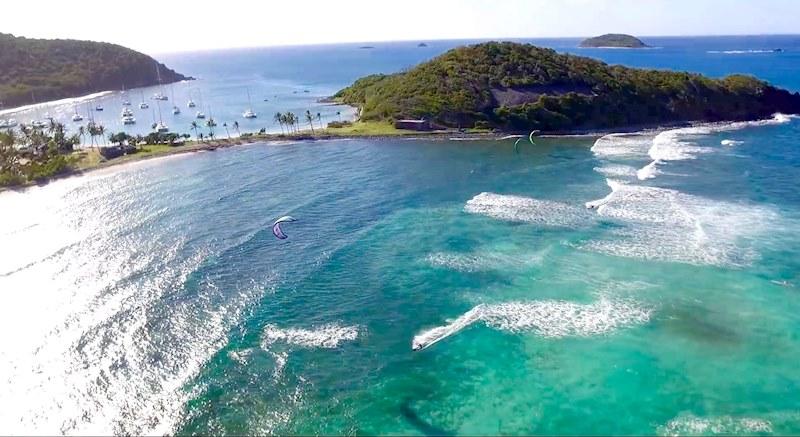 Kite in Paradise - Salt Whistle Bay